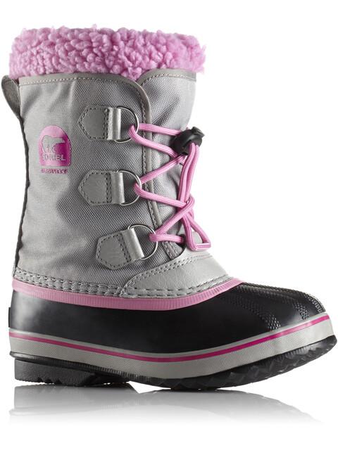 Sorel Yoot Pack Nylon Boots Children Chrome Grey/Orchid